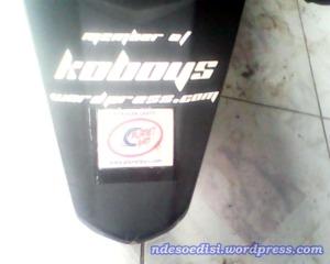 Stiker Koboys