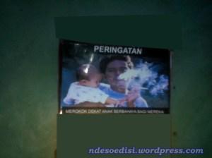 peringatan dilarang merokok