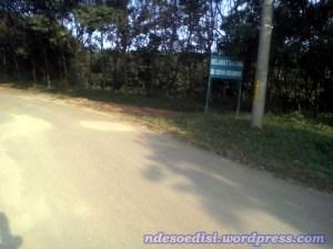 masuk perkebunan Cikumpay