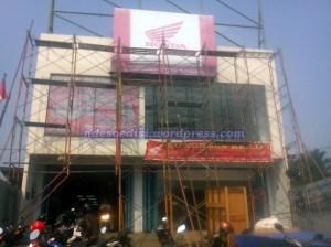 bangunan CMM sedang di renovasi