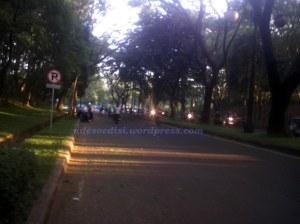 daerah bundaran Plaza Hotel Kota Bukit Indah