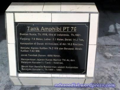keterangan Tank PT-76