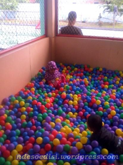 area bermain mandi bola
