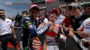Rossi vs Marquez :mrgreen: