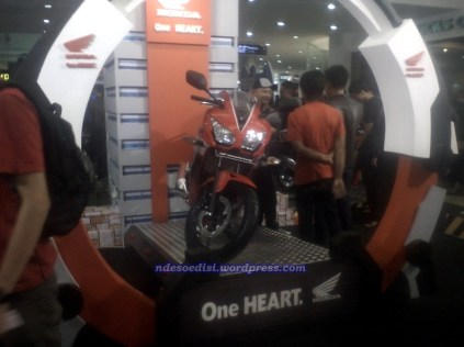 Launching CBR 150 R BDG