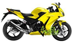 CBR Kuning polos