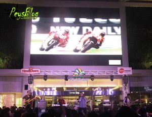 Kerispatih memeriahkan acara launching All New CBR 150 R (pic : mang Pey)