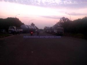 Vessel raksasa di gerbang Texmaco