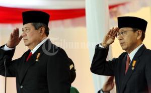 SBY-Boediono (pic:tribunnews)