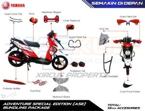 aksesories asli X-Ride