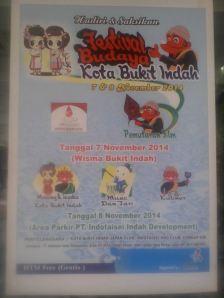 Festival Budaya Kota Bukit Indah 2014