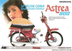 iklan Astrea 800 hasil googling