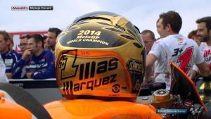 helm emas Marquez (pic: google)