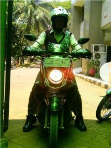 Pak Iman pemilik X-Ride