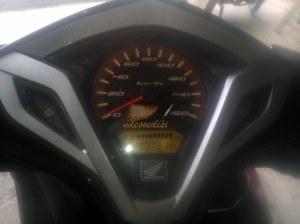 Speedometer vario 125
