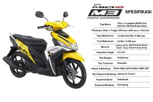 spesifikasi Mio M3 125