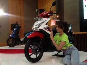 ilustrasi Honda Beat