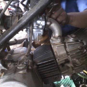 karburator ganti baru