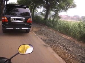 Pengecoran jalan