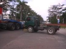 Didepan SPBU Kota Bukit Indah