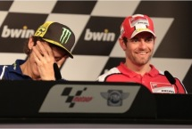 Valentino Rossi and Cal Crutchlow, Spanish MotoGP: