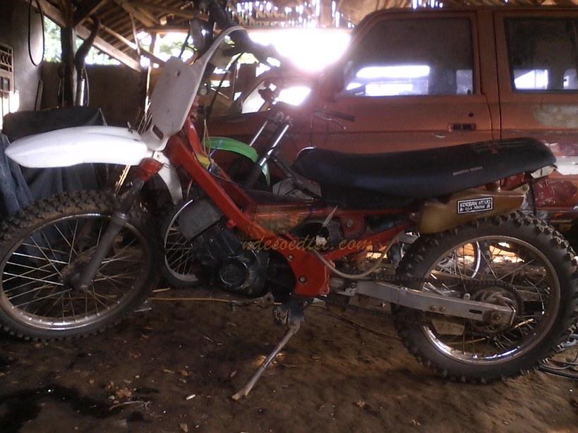Modifikasi Suzuki Satria 2 Tak Salju Ndesoedisi