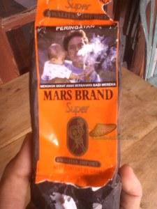 rokok Mars Brand