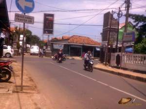 kiri kota Purwakarta, kanan Sadang/Cimaung