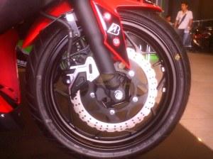 masih single disc brake