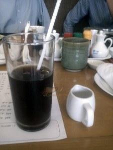 kopi dingin & gula