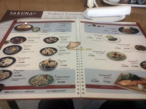 menu masakan Jepang