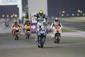 Rossi Juara di Losail Qatar 2015