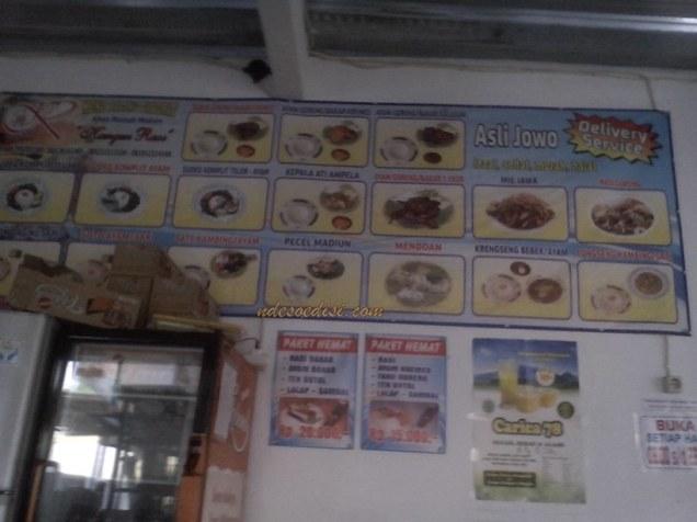 menu yang lain