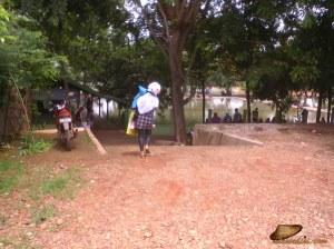Lokasi kolam pemancingan Haji Lomri