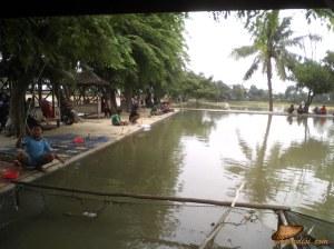 orang-orang memancing