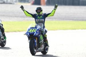 Rossi juara di argentina