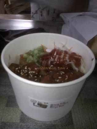 ayam goreng saus K-food