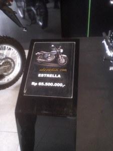 Estrella dibandrol 65 juta rupiah