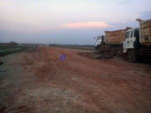 Tol Cipali 2015 Ruas jalan belum di cor