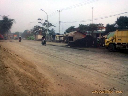 Perbaikan jalur mudik (3)
