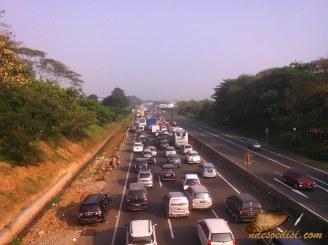 Tol Cikampek km 72 arah Jakarta