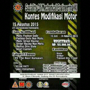 Kontes Modifikasi Motor HMM STT Wastukancana 2015