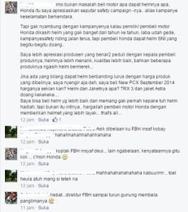 komentar blogger kondang :-)