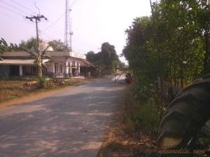 perbaikan jalan di desa Kadawung-Pabuaran Subang