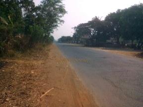 jalan aspal bergelombang