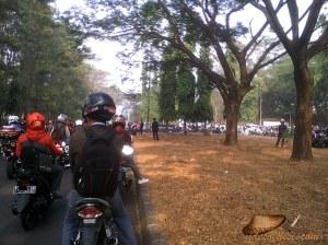 Demo buruh Purwakarta