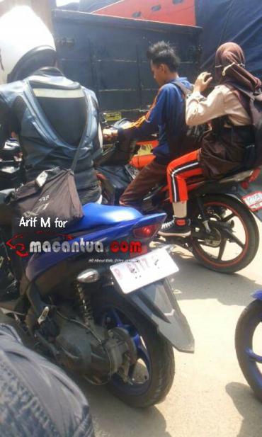 spyshoot Yamaha Aerox Indonesia