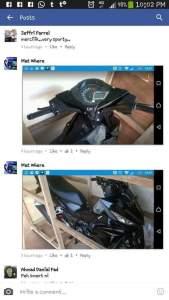 spyshoot Honda Supra X 150
