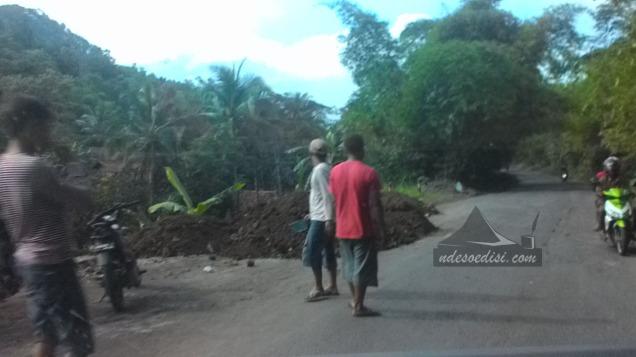 Pelebaran jalan di Wangon