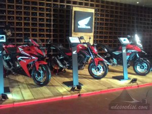 jajaran big bike Honda